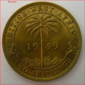 British west africa km 29 1949 voor